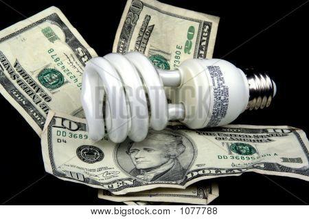 Energiesparende Glühbirne