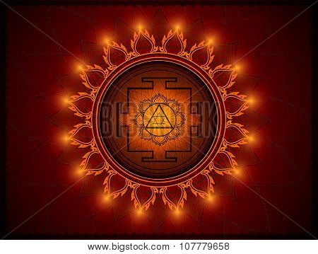 Yantra Goddess Lakshmi