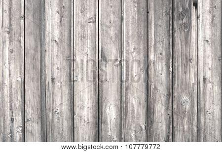 White Old Wooden Planks.