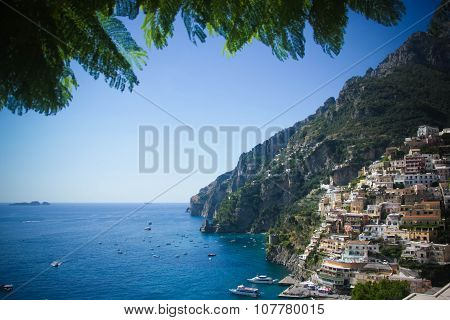 Stock Photo - Positano, Amalfi Coast, Italy.