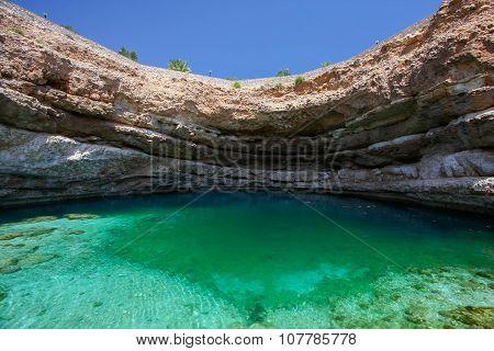 Sinkhole in Oman