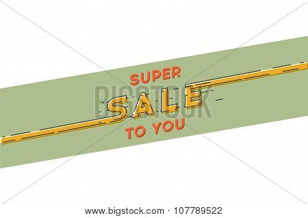 Black friday banner. Sale. Line art. Stock vector.