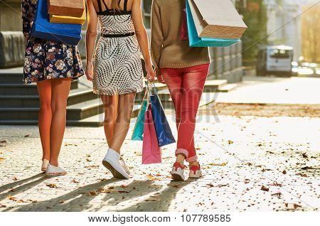 Women Going Legs