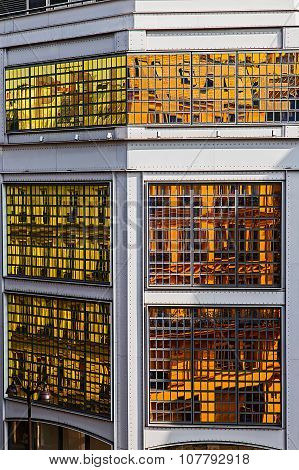 Facade Of Store Printemps, Paris