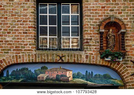 Buildings From Historic Center Of Bruxelles, Belgium 1