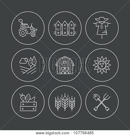 Eco Farming Icons