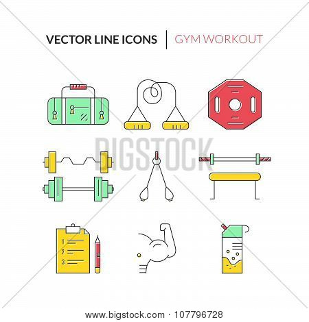 Bodybuilding Icons