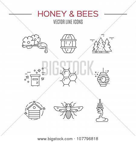 Honey Icons