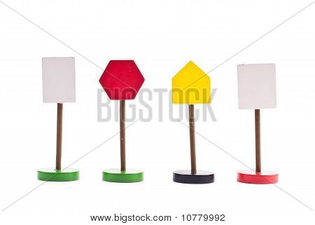 Miscellaneous Unmarked Traffic Signs