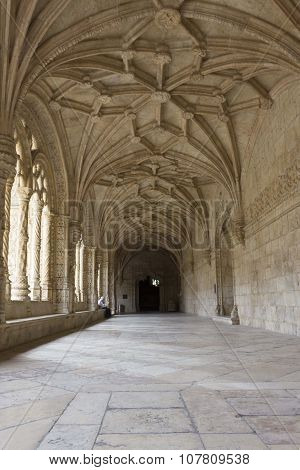 Hallway Of The Jeronimos Monastery
