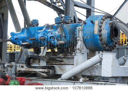 Gas Drilling Machine Mechanism