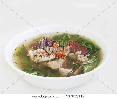 Thai Blood Pork Soup