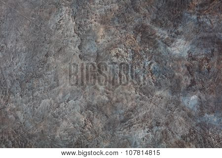 Dark grey brutal stone background Copy space Textured wall