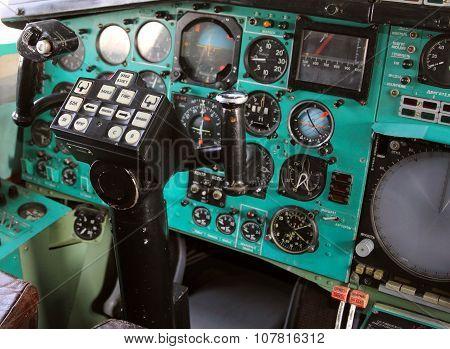 Airplane Cockpit  Tu-144.
