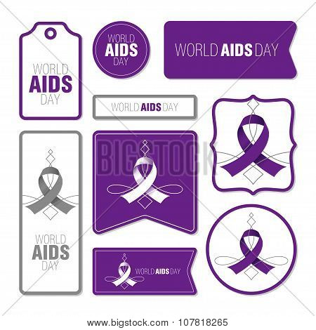 Collection Of World Aids Day Cards