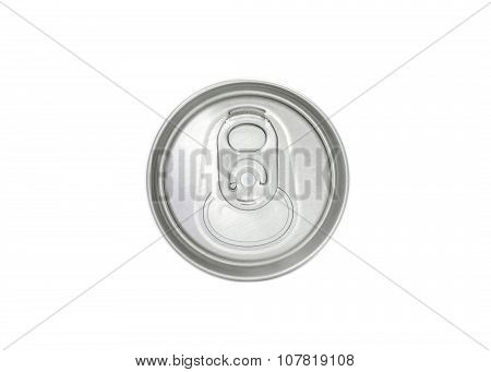 Top View Of Aluminum Can