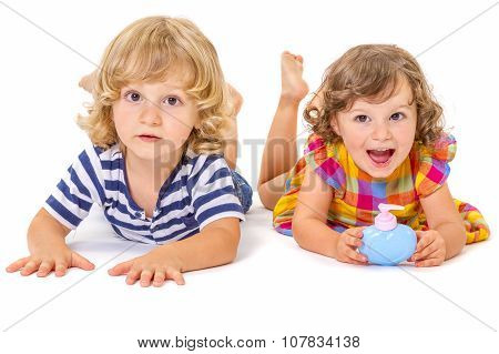 Funny Boy and Girl
