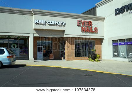 Hair Cuttery and Ever Nails