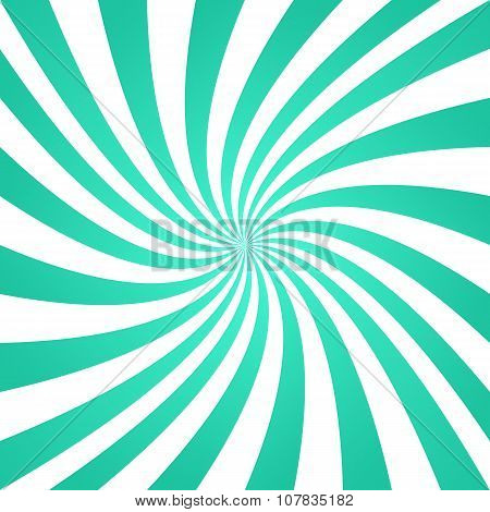 Turquoise color whirl pattern background