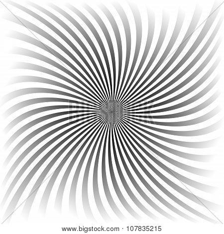 Grey gradient spiral background design