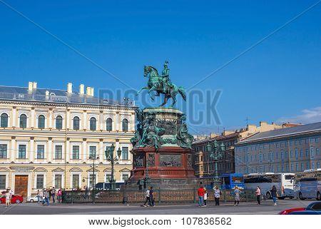 Monument Emperor Nicholas I