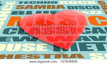 love relative celebration card background