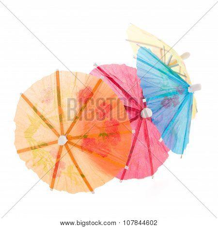 Paper Umbrellas For Cocktails