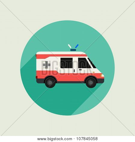 Ambulance vector car