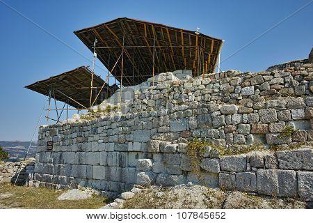 Ruins of Antique Thracian sanctuary Tatul, Kardzhali Region