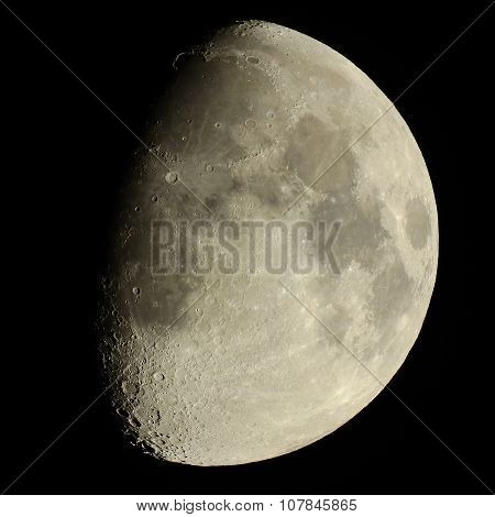 Waxing Gibbous Moon 75% Illuminated