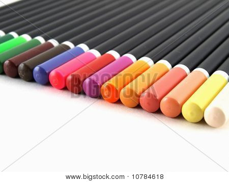 Colored Pencil Tops