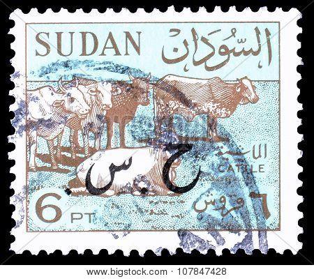 Sudan 1962 overprinted