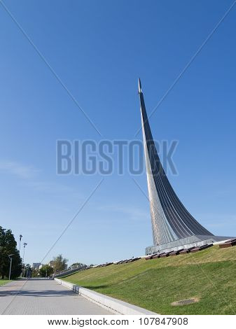 The Monument At The Alley Of Cosmonauts
