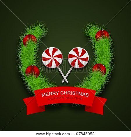 Invitation of xmas or happy new year