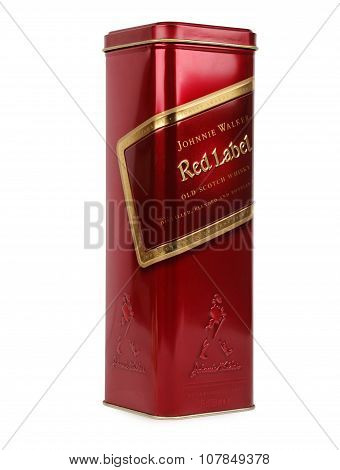 Johnny Walker Red Label Tin