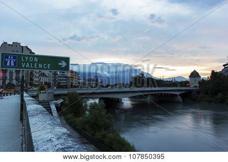 Grenoble In France