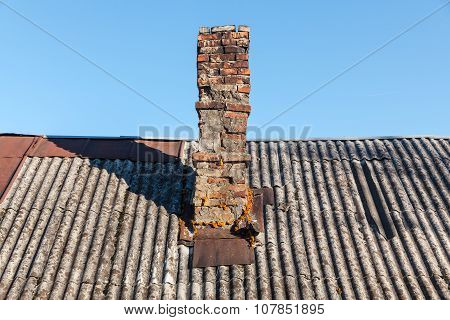 Vintage Brick Chimney