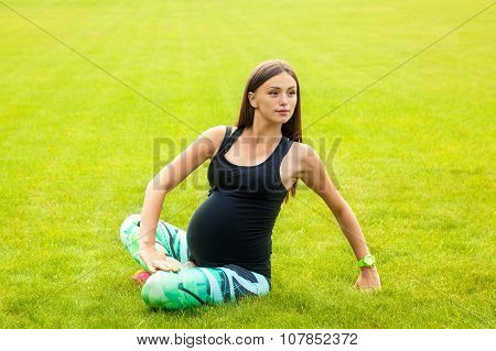The Pregnant Young Woman