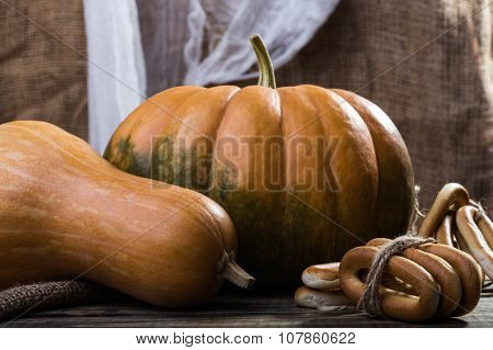 Pumpkins And Bunches Of Cracknels