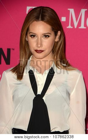 LOS ANGELES - NOV 10:  Ashley Tisdale at the T-Mobile Un-carrier X Launch Celebration at the Shrine Auditorium on November 10, 2015 in Los Angeles, CA