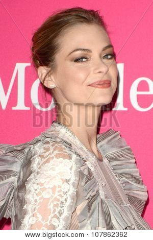 LOS ANGELES - NOV 10:  Jaime King at the T-Mobile Un-carrier X Launch Celebration at the Shrine Auditorium on November 10, 2015 in Los Angeles, CA