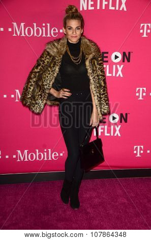 LOS ANGELES - NOV 10:  Rachel McCord at the T-Mobile Un-carrier X Launch Celebration at the Shrine Auditorium on November 10, 2015 in Los Angeles, CA