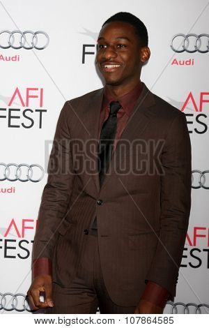 LOS ANGELES - NOV 10:  Leon Bridges at the AFI Fest 2015 Presented by Audi -