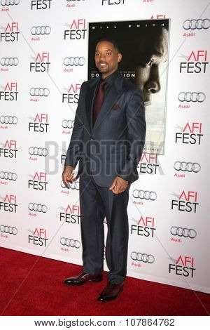 LOS ANGELES - NOV 10:  Will Smith at the AFI Fest 2015 Presented by Audi -
