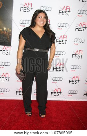 LOS ANGELES - NOV 9:  Elizabeth de Razzo at the AFI Fest 2015 Presented by Audi -