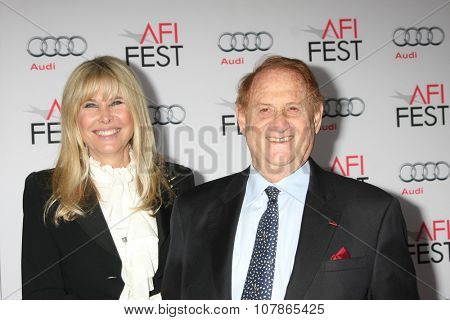 LOS ANGELES - NOV 9:  Irena Medavoy, Mike Medavoy at the AFI Fest 2015 Presented by Audi -