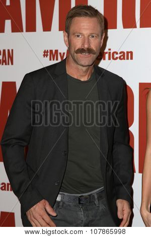 LOS ANGELES - NOV 9:  Aaron Eckhart at the