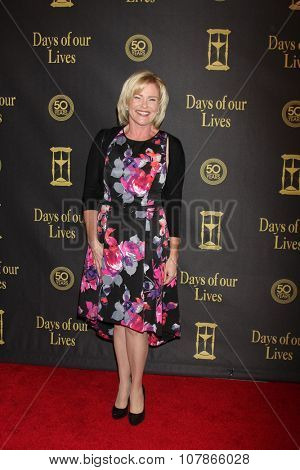 LOS ANGELES - NOV 7:  Judi Evans at the Days of Our Lives 50th Anniversary Party at the Hollywood Palladium on November 7, 2015 in Los Angeles, CA