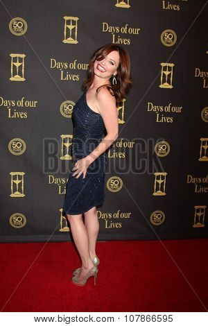 LOS ANGELES - NOV 7:  Melissa Archer at the Days of Our Lives 50th Anniversary Party at the Hollywood Palladium on November 7, 2015 in Los Angeles, CA