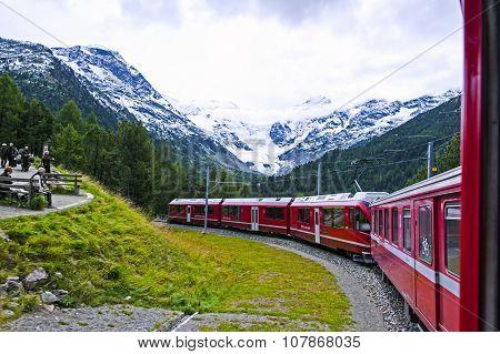 In Swiss Alps